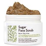 [Forest Heal] Scrub per lo zucchero, olio di andiroba e semi di fragole reali, esfoliante naturale per la dei pori e il controllo del sebo, luminosità della pelle e idratazione (100 ml / 3.38 fl.oz)