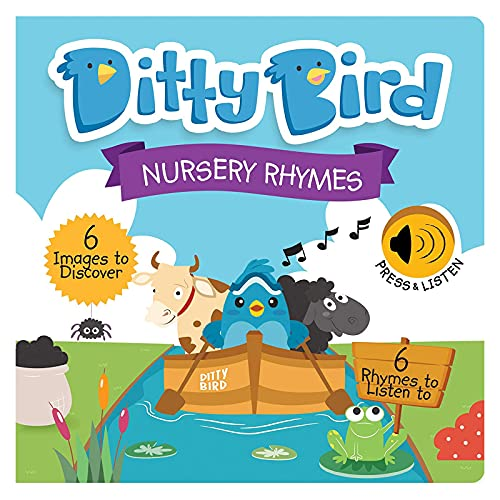 DITTY BIRD Baby Sound Books: Nursery Rhymes Musical Sound Book for...