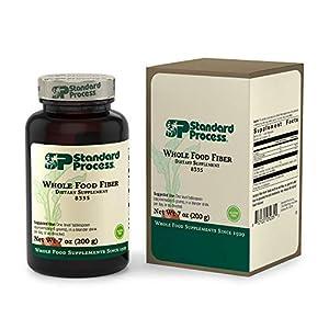 Standard Process Whole Food Fiber - Bowel, Digestion and Digestive Health with Rice Bran, Organic Carrot, Apple Pectin, Beet Root, Oat Fiber and Organic Sweet Potato - Vegetarian - 7 Ounce