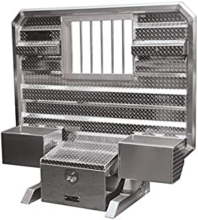 Cab Rack - Includes: Window - Locking Chain Hangers - Chain Trays - Tool Box - by ProTech