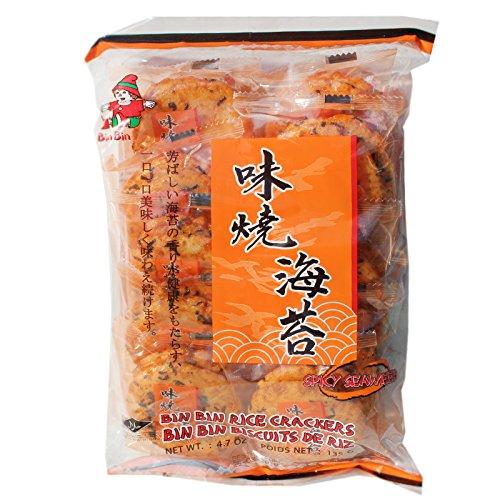 würzige Reiscracker mit Seetang 135 g