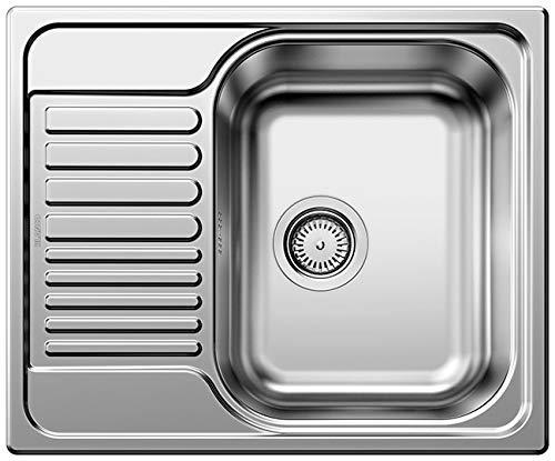 BLANCO Tipo 45 S Mini, Küchenspüle, Edelstahl Naturfinish, 1 Stück, 516524