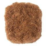 Lovenea 4 INCH 3 Bundles Afro Kinkys Bulk Human Hair for Dreadlocks and Twist Braiding Full Head 100% Human Hair Soft Afro Kinky Curly Hair Bulk for Dreads DIY (4 inch, 5.29oz,4#)