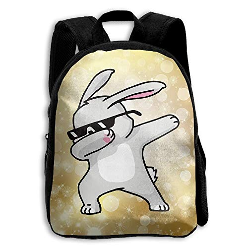 VNFDAS The Children's Cute Dabbing Osterhase Rucksack