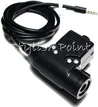 FidgetKute Radio Communication Gear Element U94 Headset PTT for Mobile Phone 3.5mm Version Show One Size