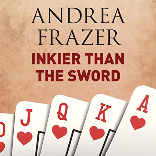 Inkier Than the Sword audiobook cover art