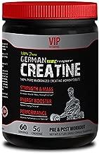 Natural Bodybuilding Supplements - German CREATINE CREAPURE Powder - PRE & Post Workout - German creatine monohydrate - 1 Can 300 Grams (60 Servings)