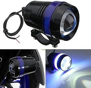 katur Motorrad Scheinwerfer, Wasserdicht, Schwarzes Gehäuse, U3 LED, Motorrad Spot