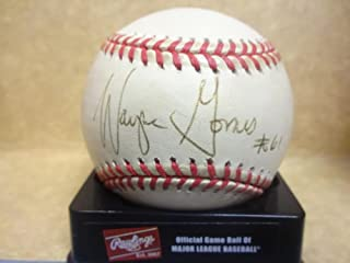 Wayne Gomes Autographed Baseball - giants N l W coa - Autographed Baseballs