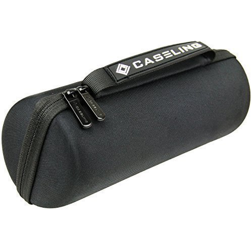 Caseling Hard Case Fits Jbl Charge 3 Waterproof Portable Wireless Speaker. Hard Carrying Case Travel Bag. Fits Plug and Cables