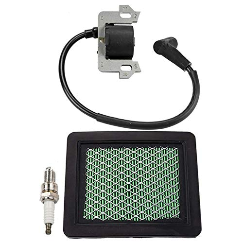 MAMINGGANG MmGang®. Zündspulenmodul Luftfilter Zündkerze Teile Kit Fit für HO/NDA GC135 GC160 Motor Motor Handwerker Push Mäher (Color : Black)