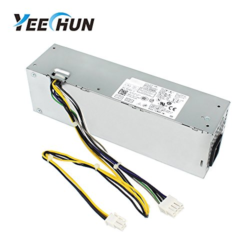 YEECHUN 255W L255AS-00 PS-3261-2DF Power Supply for Dell Optiplex 3020 7020 9020 Precision T1700 Small Form Factor (SFF) Systems Part Number: YH9D7 R7PPW NT1XP 3XRJ0 V9MVK FP16X T4GWM M9GW7 FN3MN