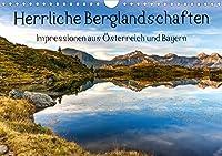 Herrliche Berglandschaften - Impressionen aus Oesterreich und BayernAT-Version (Wandkalender 2021 DIN A4 quer): Die schoensten Plaetze der Alpen (Monatskalender, 14 Seiten )