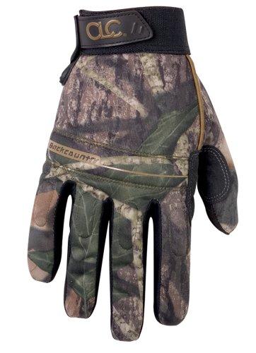 CLC Custom Leathercraft Sportsman M125L Mossy Oak Backcountry Gloves - Size Large