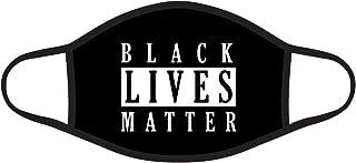 Black Lives Matter Graphic Printed 2 Ply Face Mask Bandana Balaclava Unisex Adult Size