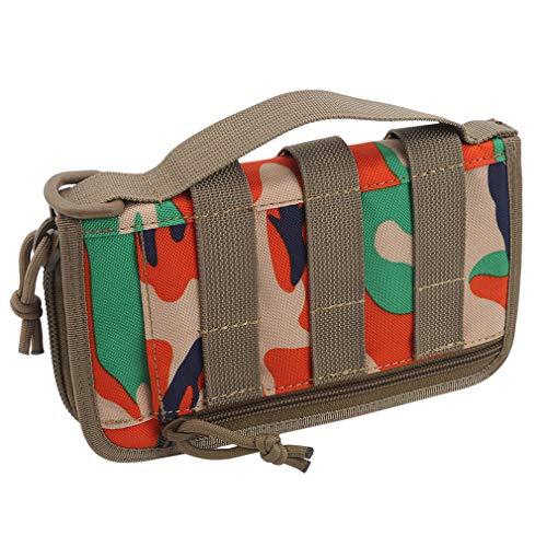 unknow YiYour Wanderausrüstung Tool Organizer Pouch Camping Camouflage Handtasche Geldbörse Geldbörse,Orange