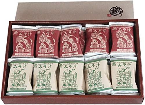 米どころ新潟のお味噌屋さんが作ったインスタント味噌汁です。お味噌屋さんらしく、味噌の風味を生かした作りが特徴です。コシヒカリ玄米を使ったお味噌など、ちょっと変わったお味噌を使っています。フリーズドライのお豆腐やわかめ、ほうれん草など具材が豊富なのも特徴です。