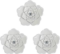 Amazon Com Metal Flowers Wall Art
