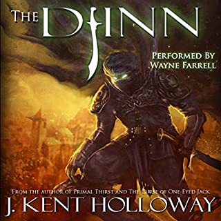 The Djinn audiobook cover art