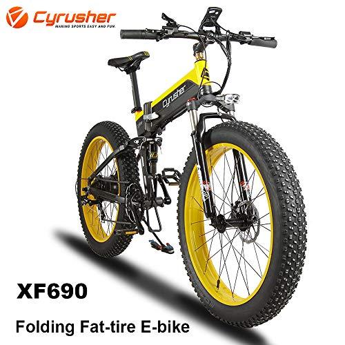 Cyrusher XF690 Folding Electric Fat Tyre Bike