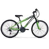 Kawasaki Bicicletta KROCK 20' Green Bambino, Verde, 20''