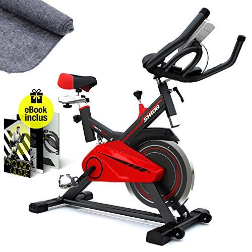 professionnel comparateur Vélo d'appartement SX100 vélo d'intérieur, poids d'inertie 13 kg, repose-poignets souple,… choix
