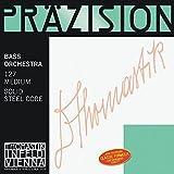 """Thomastik Corde per Contrabbasso Precisione con nucleo in acciaio solid accordo d'orchestra Set 4/4 media per misura a 1100 mm / 43.3"""""""