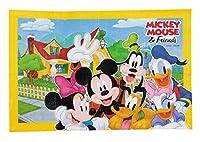 パール金属 ディズニー レジャーシート ソフトクッション 90×60cm ミッキー&フレンズ/スマイル MA-4579