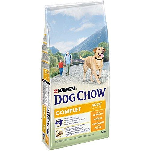 Dog Chow Perro Completo Pienso con Pollo para Perro Adulto 14 kg