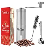 Precision Manual Coffee Bean Grinder By Homiry: Best Portable, Easily...