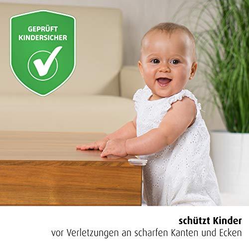 starker Halt reer Ecken-Schutz fürs Baby 82021 4 Stück, geprüft kindersicher
