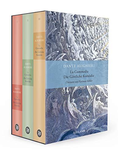 La Commedia / Die Göttliche Komödie: Drei Bände im Schuber. Italienisch/Deutsch