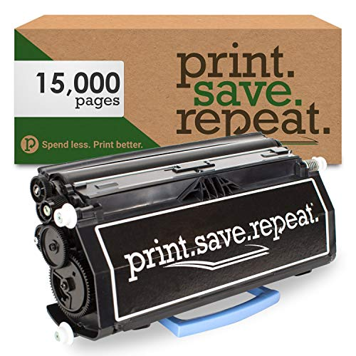 Print.Save.Repeat. Lexmark E460X21A Extra High Yield Remanufactured Toner Cartridge for E460, E462 [15,000 Pages]