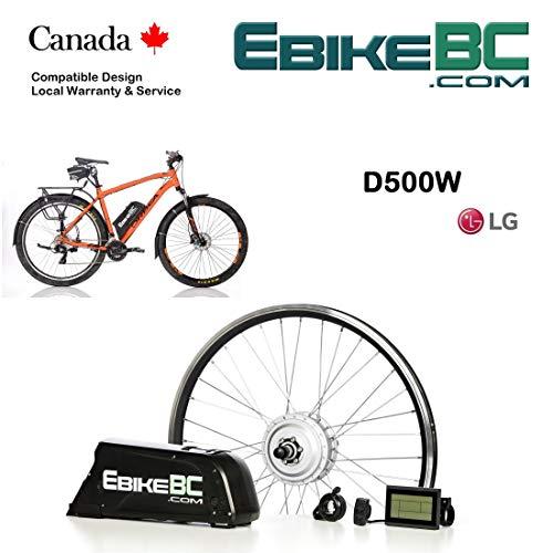 Batterie de v/élo /électrique Haute capacit/é Pudincoco 24V 10.4Ah E-Bike Lithium ION Batterie avec Chargeur Kit de Conversion de v/élo /électrique