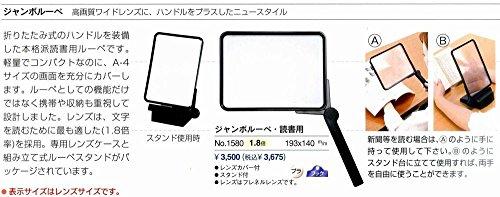 池田レンズ ジャンボルーペ・読書用 1580