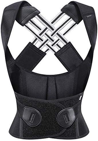 Posture Corrector For Women Men Caretras Back Brace Shoulder Brace With Lumbar Support Adjustable product image