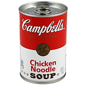 BigMouth Inc Campbell s Chicken Noodle Soup Can Safe —Great Hiding Place for Storing Valuables 3  x 3  x 4.5