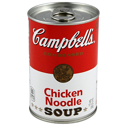 BigMouth Inc Campbell's Chicken Noodle Soup Can Safe —Great Hiding Place for Storing Valuables, 3' x 3' x 4.5'