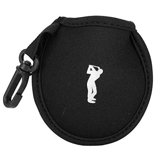 Dwawoo golfbaltas, mini nylon golf taille houder tas golfbal opbergtas met clip Golf accessoires