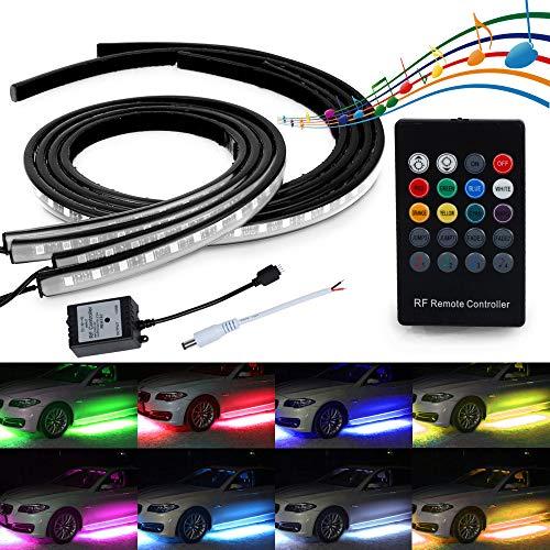 Automotive Neon Accent Light Tubes
