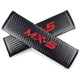2 Piezas Almohadilla Para Cinturón De Seguridad Para Automóvil Para Mazda Mx-5 Mx5, Retirable Fundas Para Correas De Hombro Transpirable Cálido Accesorios Protectores De Estilo Soft Comfort