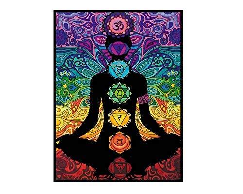 Colorvelvet L106 - Disegno Chakra, 47 x 35 cm