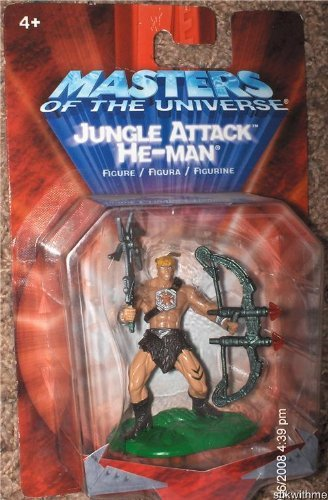 Mattel 2002 Masters of The Universe Jungle Attack ~ HE-Man Action Figure by by