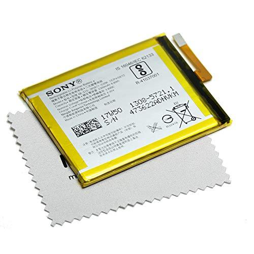 Batería para Sony Original LIS1618ERPC 1298-9239 para Sony Xperia E5, Xperia XA, Xperia XA Dual, con paño de limpieza de pantalla Mungoo