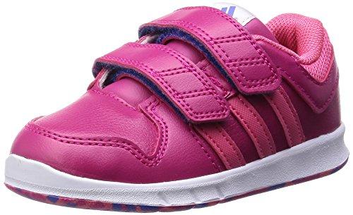adidas LK Trainer 6 CF I - Zapatillas para niños, Color Rosa/Fucsia/Azul, Talla 20