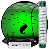 Green Blob Outdoors 7500 New Underwater Dock Fishing Light with Extra Long 50ft Cord, Made in Texas