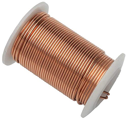 The Beadsmith 16-Gauge Lacquered Tarnish-Resistant Copper Wire for Jewelry Making, 24 Foot,7.38 Meter Spool (Copper)