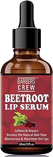 BARBERS CREW Beetroot Lip Serum for Lip Lightening & for Damaged Lips, 30ml