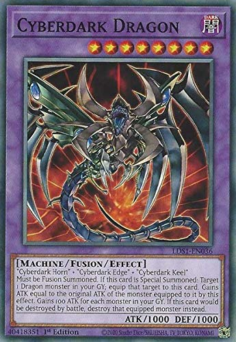 Cyberdark Dragon - LDS1-EN036 - Common - 1st Edition