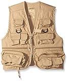 Master Sportsman Kids 26 Pocket Fishing Vest, Medium, Khaki